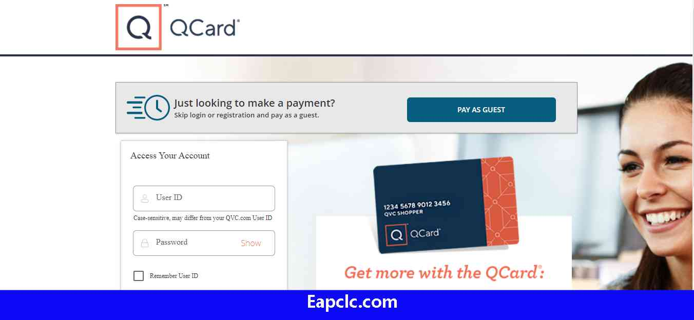 QCard Credit Card Login