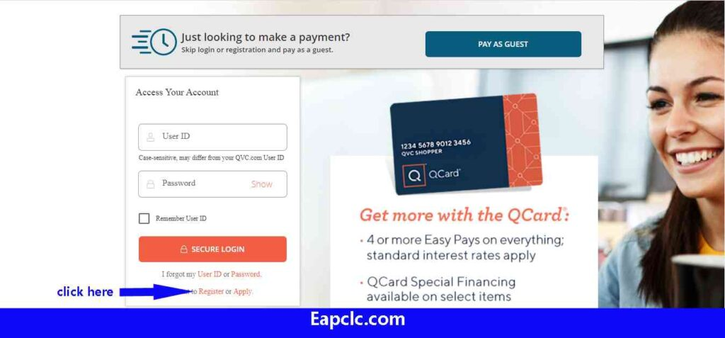 QVC Credit Card Login
